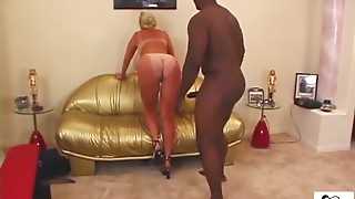 Lesbian couple massaged